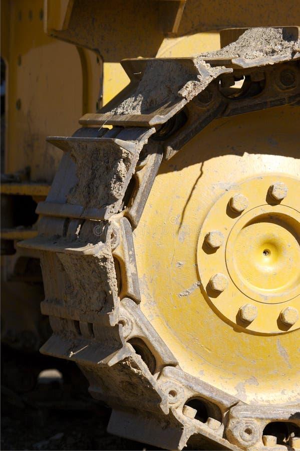 Dozer Detail. Bulldozer Track Detail royalty free stock photography