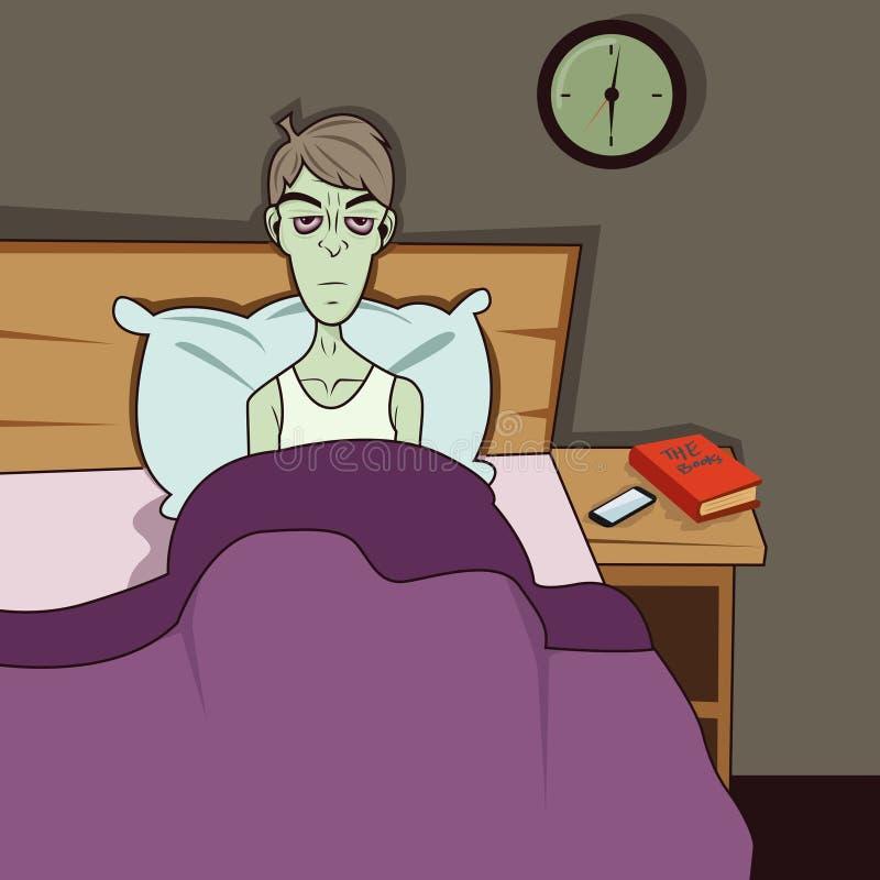 Dozombox η κεφαλαιοκρατία Zombie ξυπνήστε διανυσματική απεικόνιση