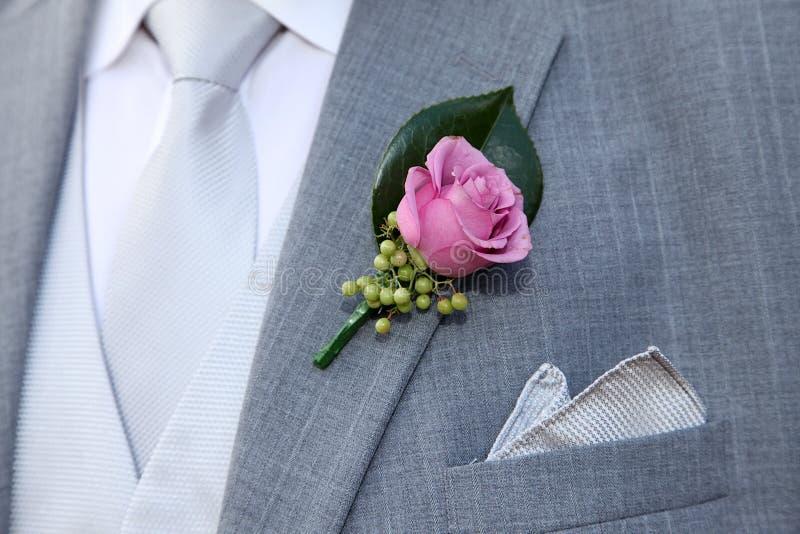 dräktbröllop arkivbild