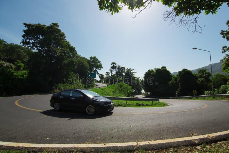 Dróg krzywy zdjęcie stock