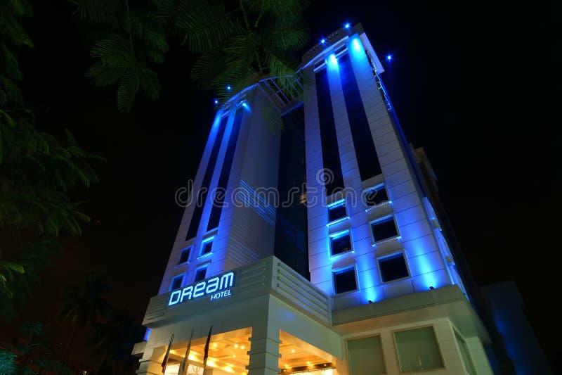 Dröm- hotell Cochin (kochi), Kerala, södra Indien royaltyfri foto