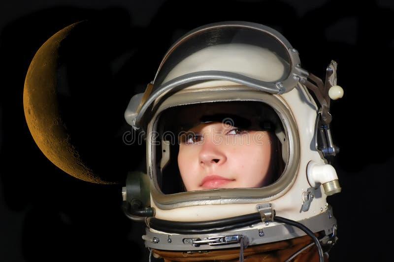 dröm- lunar royaltyfri fotografi