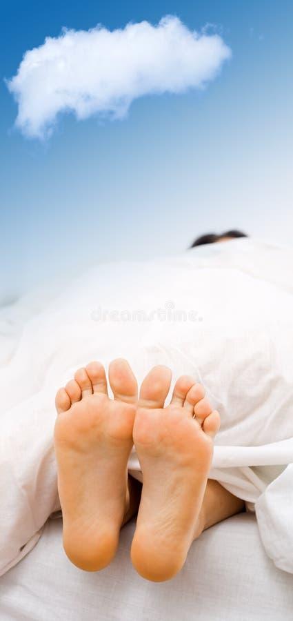 dröm- s-tid royaltyfri bild