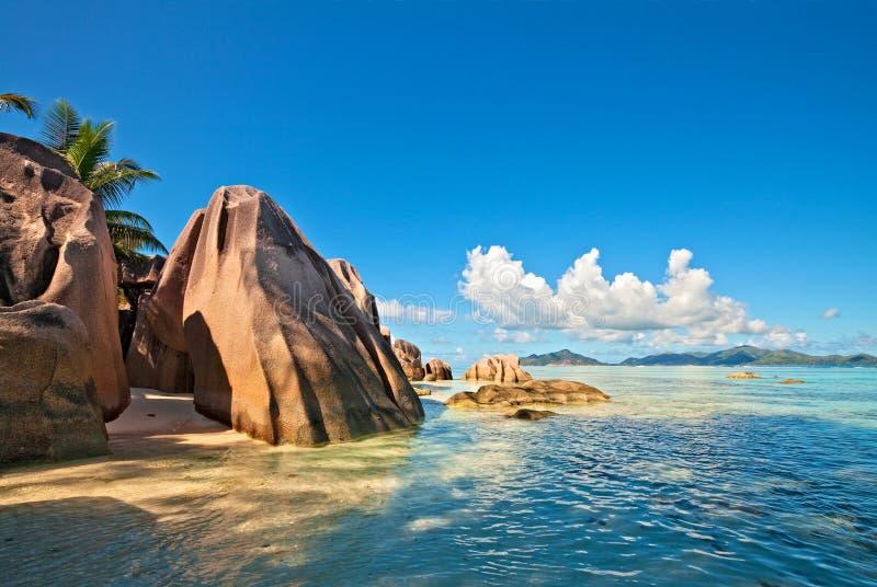dröm- seascapesikt royaltyfria bilder