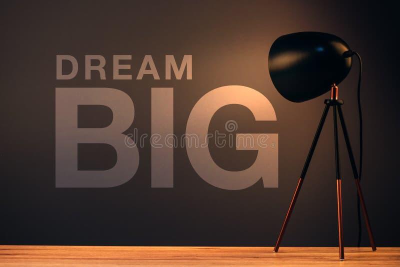 Dröm- stort, affärsidé fotografering för bildbyråer