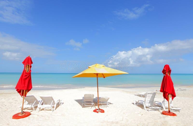 dröm- tropiskt för strand royaltyfri bild