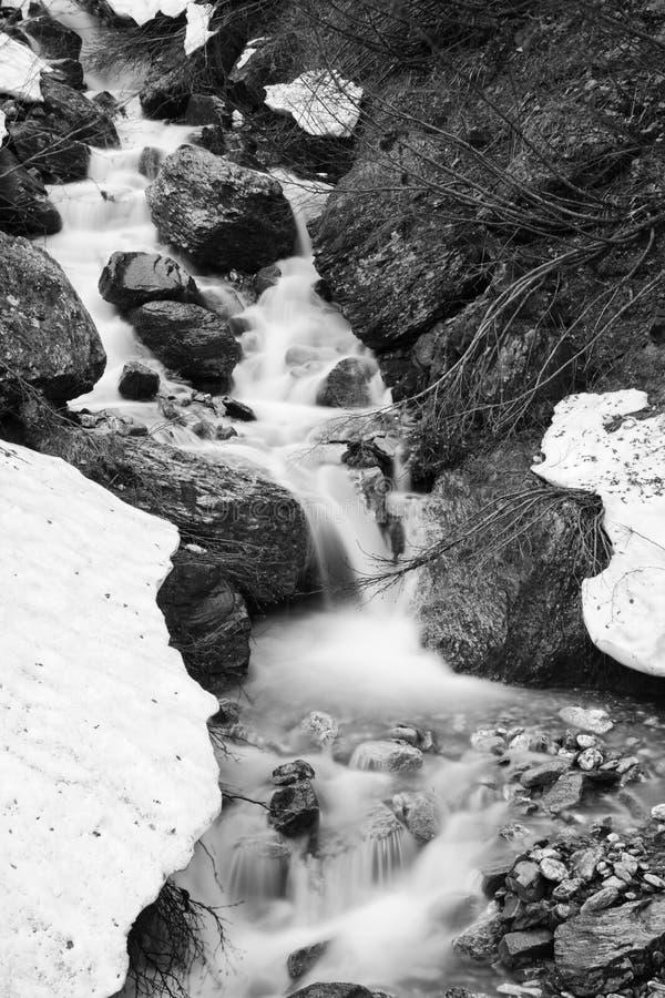 Drömlik vattenfall royaltyfri bild