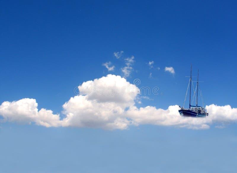 Drömlikt Fartyg Arkivbild