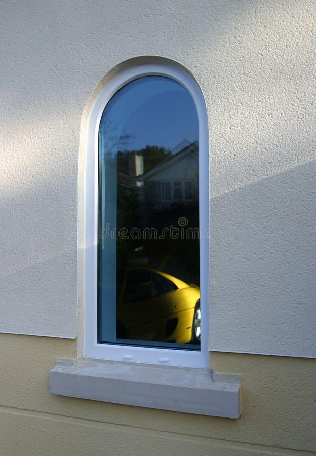 drömm fönstret arkivfoton