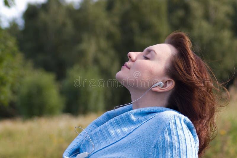 drömm musik royaltyfria bilder