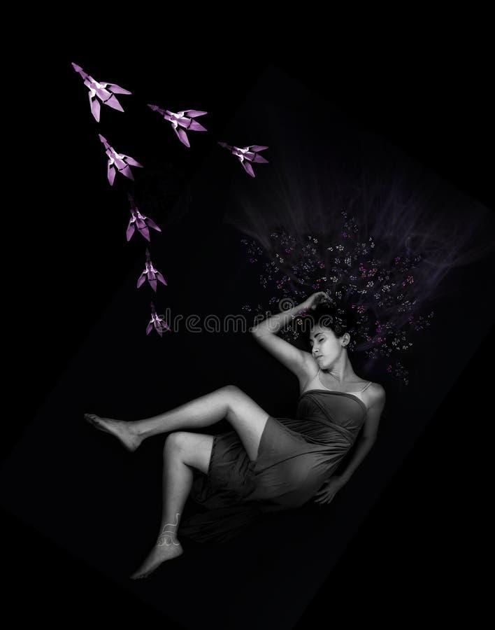 drömma flock för skönhet royaltyfri foto