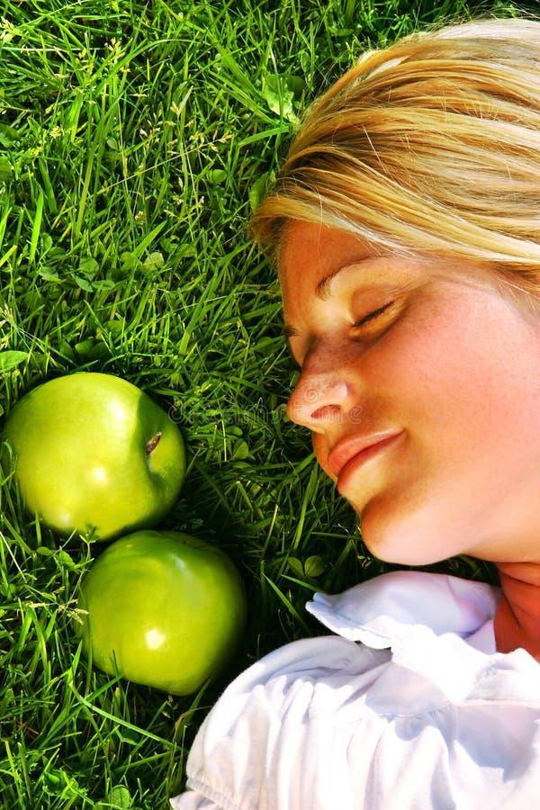 drömma gräs arkivfoto