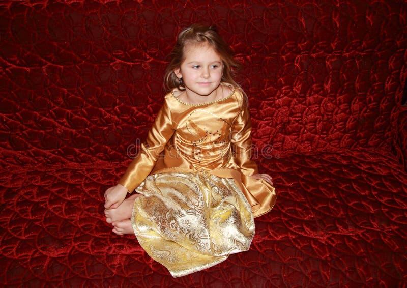 Drömma princess arkivfoto