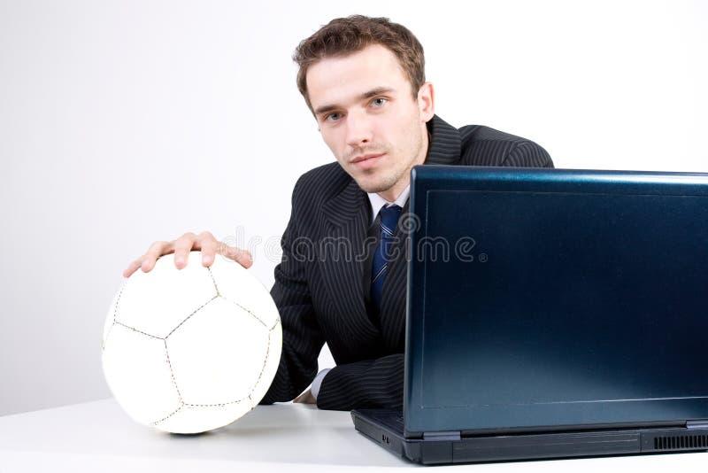 drömma tänka för dräkt för fotbollmansocce royaltyfri fotografi