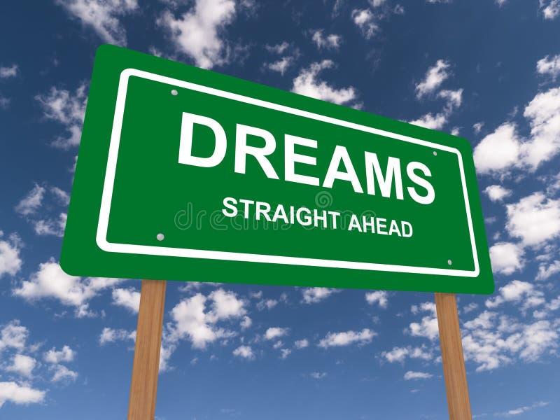 Drömmar arkivfoton