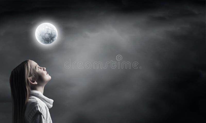drömmare little royaltyfria bilder