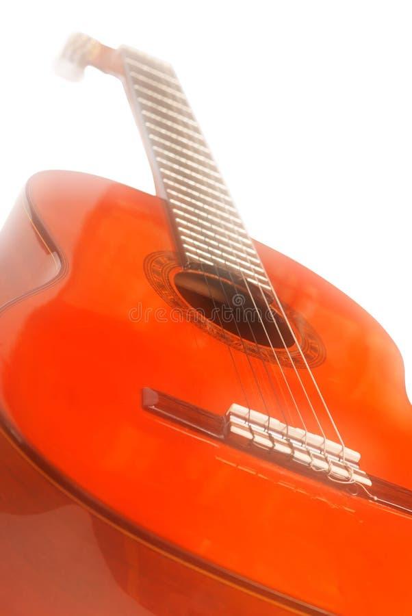 drömmen verkställer gitarren arkivfoton