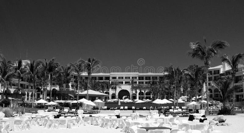 Drömsemesterort i Los Cabos Mexico arkivfoton