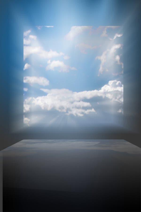drömvärld arkivfoto