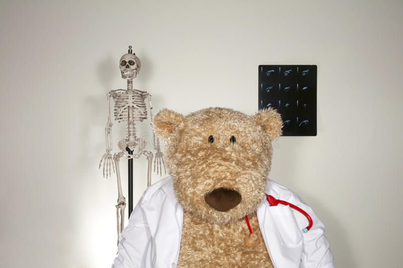 The Dr is In stock photography