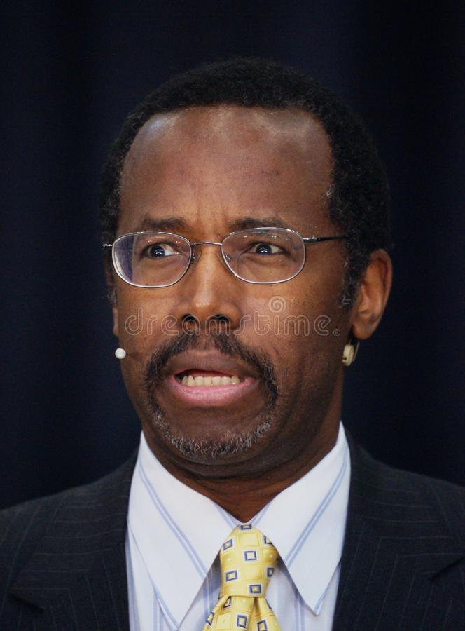 Dr. Ben Carson royalty free stock photos