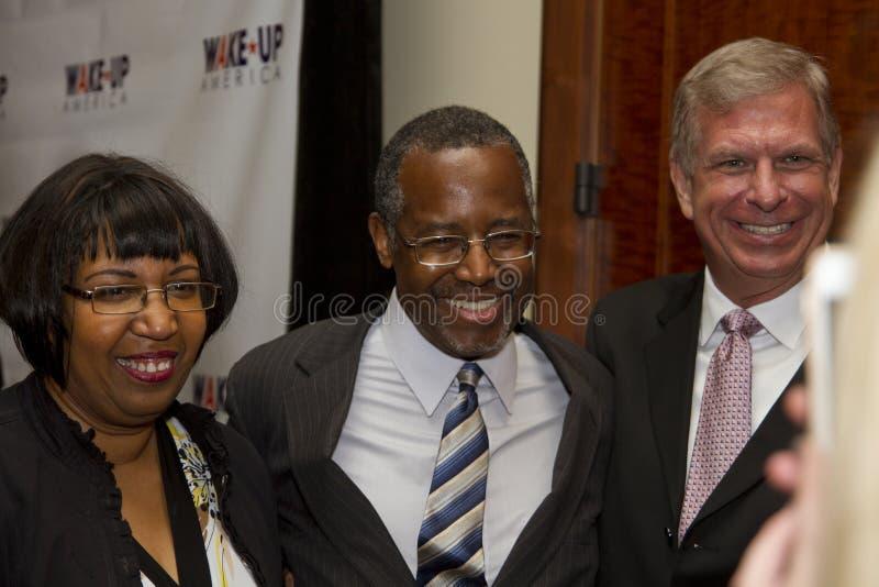 Dr. Ben E Carson que corre possivelmente para U Presidente de S imagem de stock royalty free