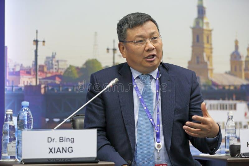 Dr. Bing Xiang stock afbeelding