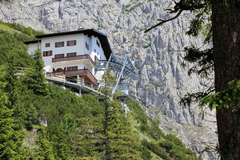 Dr. Casa de Oedl - refúgio alpino foto de stock