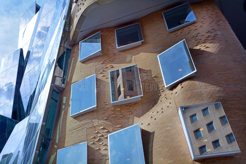 Dr Chau Chak Wing Building Sydney New South Wales Australien royaltyfri foto