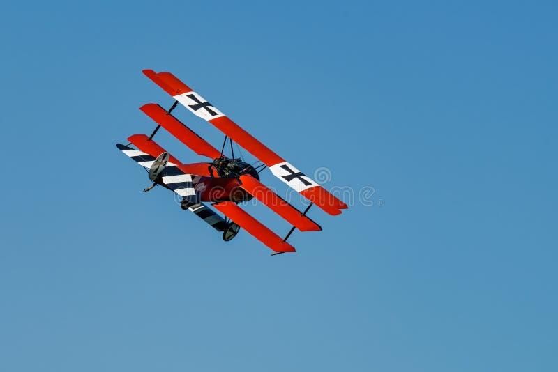 Dr.-Eu Reprodução do Fokker imagem de stock royalty free