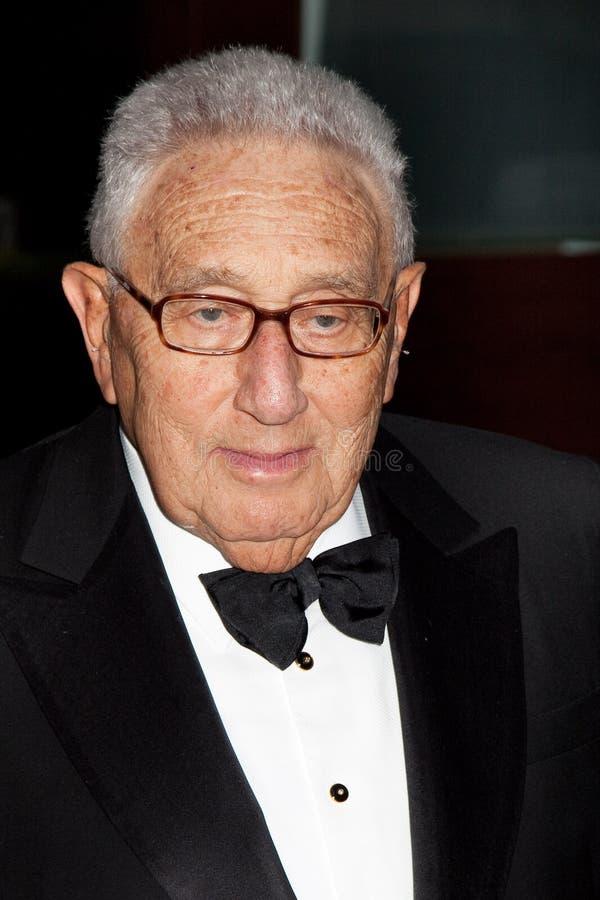 Dr. Henry Kissinger stockbilder