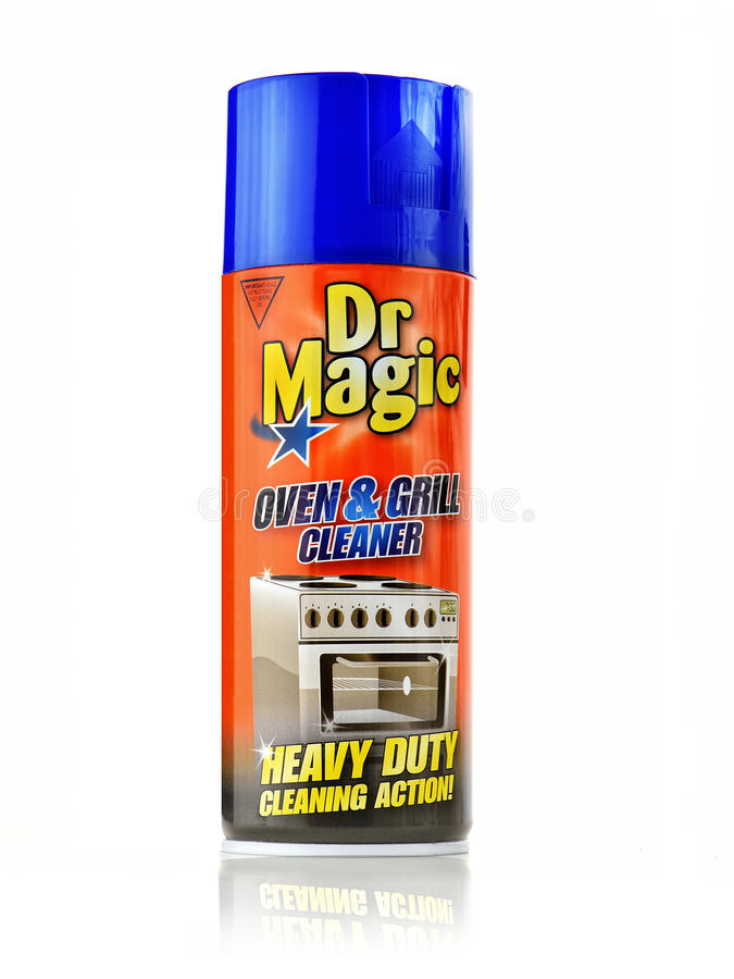 Dr. Magic Oven Cleaner Editorial stockfoto