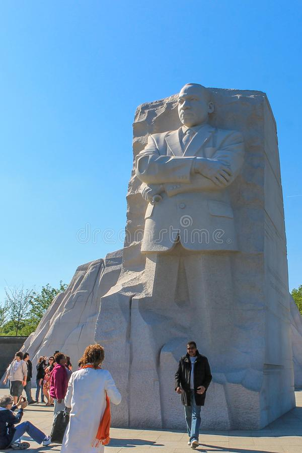 Dr. Martin Luther King Jr Memorial royalty-vrije stock afbeelding