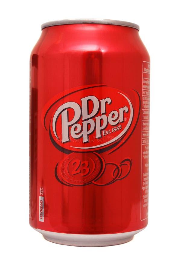 Dr. Pepper royalty-vrije stock afbeeldingen