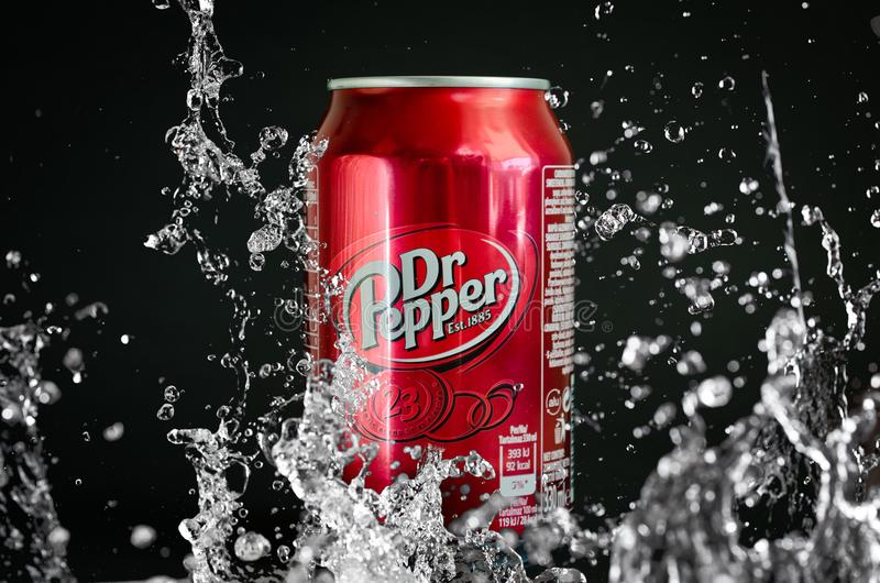 Dr Pepper soft cola drink royalty free stock photos