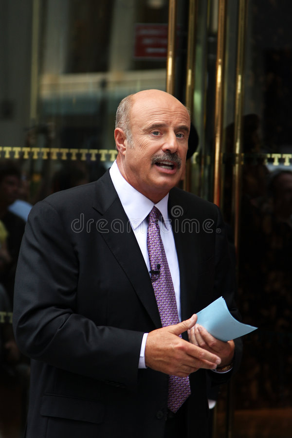 Dr. Phil stock image