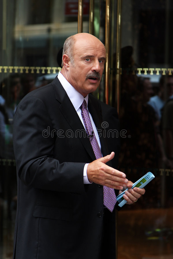 Dr. Phil royalty free stock photos