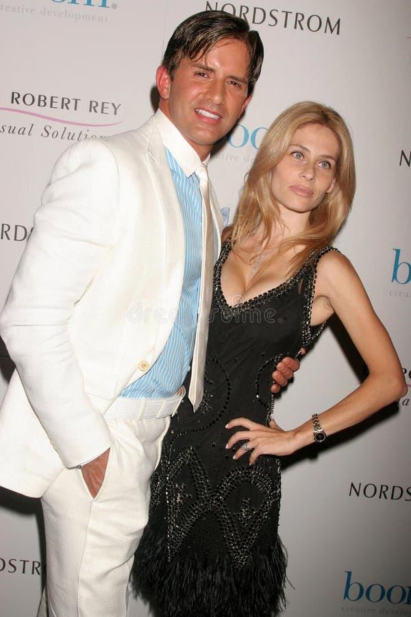 Dr. Robert Rey en Hayley Rey  royalty-vrije stock fotografie
