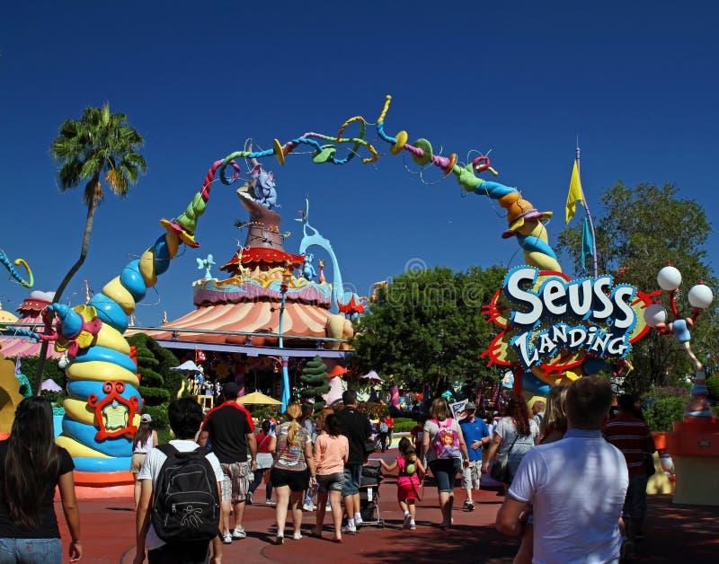 Dr. Seuss Landing foto de stock royalty free