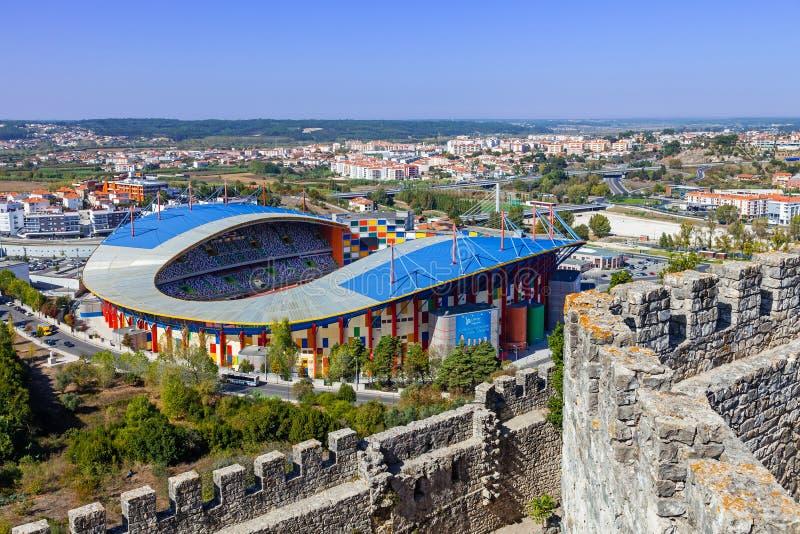 Dr. Stadion Magalhães Pessoa, alias städtisches Fußball-Stadion Leirias lizenzfreies stockfoto