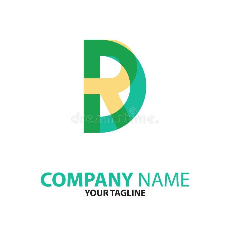 Download DR. Of Van RD Aanvankelijk Embleemconcept Vector Illustratie - Illustratie bestaande uit alfabet, bedrijf: 114226860
