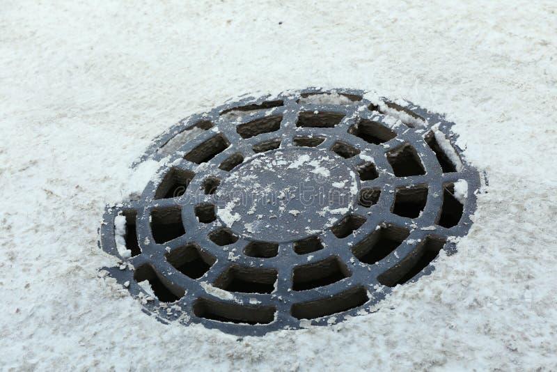 Download Drażniący manhole zdjęcie stock. Obraz złożonej z antyczny - 65225470