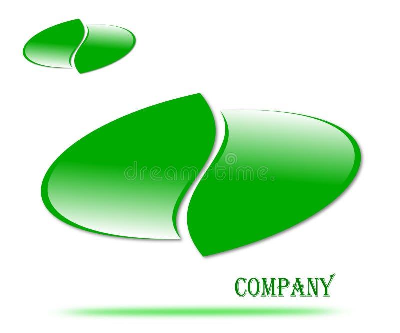 Dra företagslogoemblemet stock illustrationer
