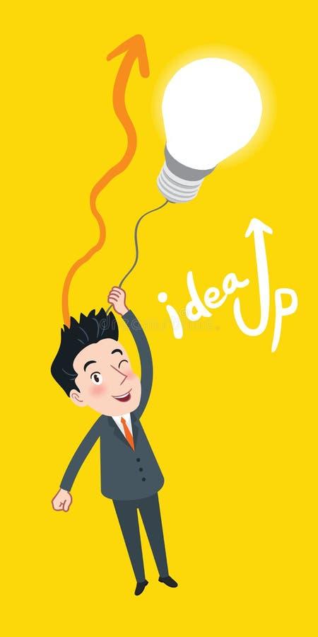 Dra plant begrepp för idé för affär för teckendesign royaltyfri illustrationer