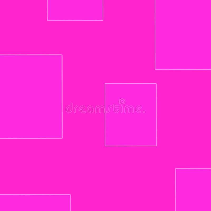 Dra rosa bakgrund för rosa bakgrund vektor illustrationer