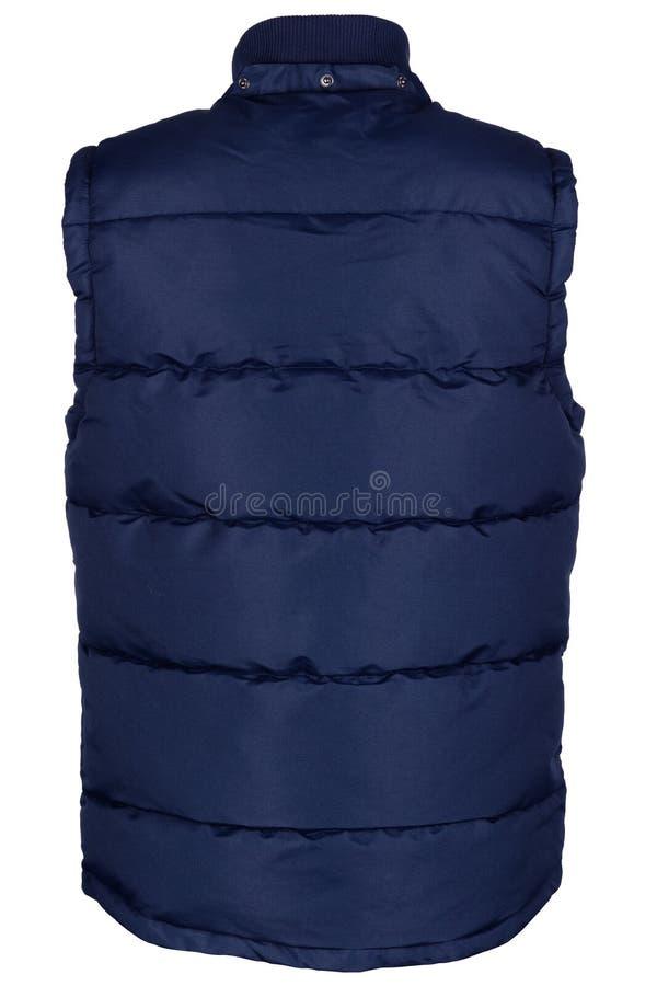 Dra tillbaka av den varma waistcoaten royaltyfri bild