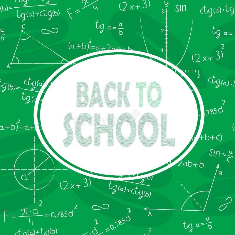 Dra tillbaka till skolan och skolförvaltningen vektor illustrationer