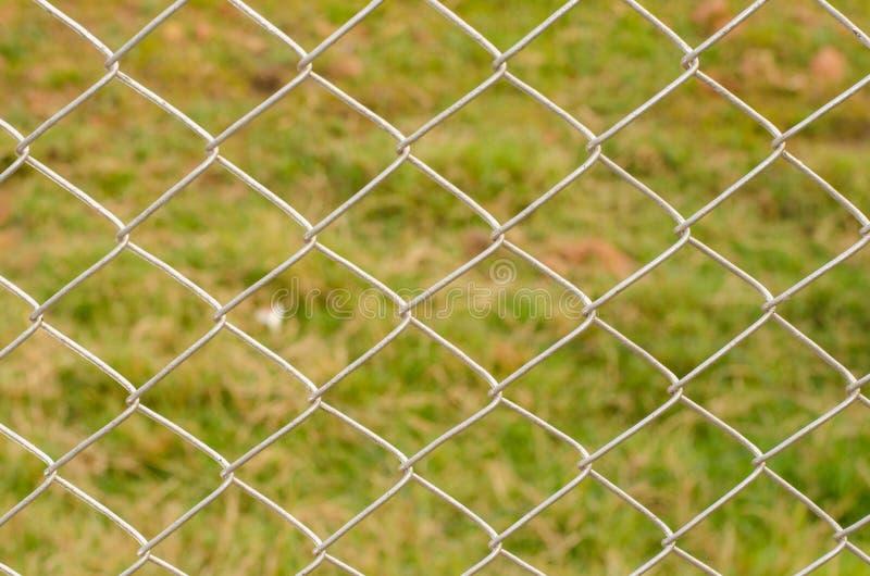 Draad Mesh Fence Close-Up royalty-vrije stock fotografie