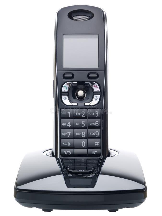 Draadloze dect telefoon stock fotografie
