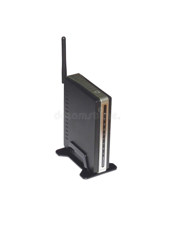 Draadloze router royalty-vrije stock foto